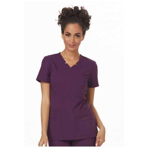Tunique Medicale Femme Sapphire Madison SA600A Aubergine