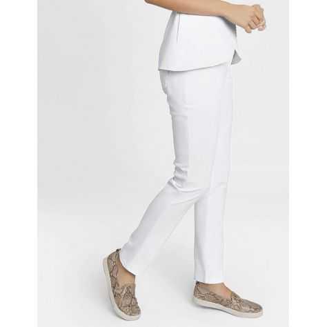 "Pantalon Jaanuu ""Contrast Ponte Pant"" Blanc"