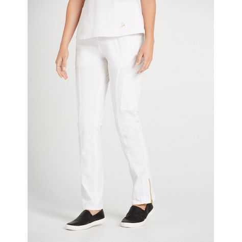 """Pantalon Jaanuu """"Moto Pant"""" Blanc"""