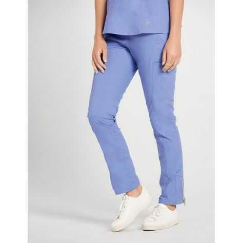"""Pantalon Jaanuu """"Moto Pant"""" Bleu Ciel"""