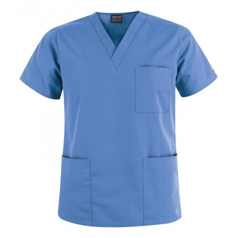 Tunique Medicale Cherokee Unisexe Bleu Ciel 4876