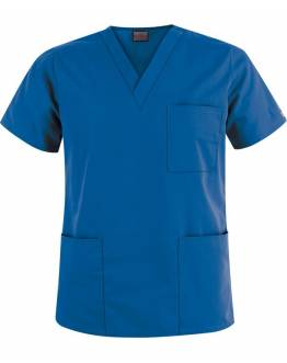 Tunique Medicale Cherokee Unisexe Bleu Royal 4876