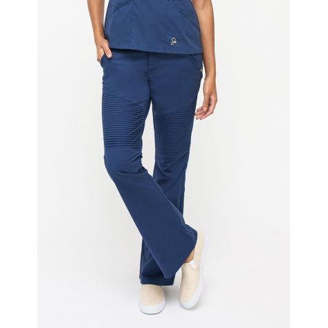 """Pantalon Jaanuu """"Pintuck Pant"""" Bleu Marine"""