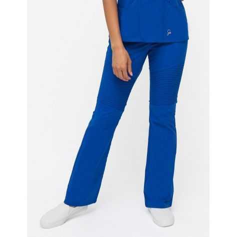 """Pantalon Jaanuu """"Pintuck Pant"""" Bleu Royal"""