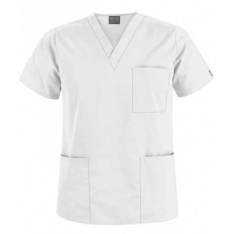 Tunique Medicale Cherokee Unisexe Blanc 4876