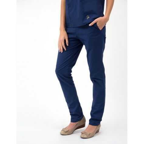 """Pantalon Jaanuu """"Skinny Pant"""" Bleu Marine"""