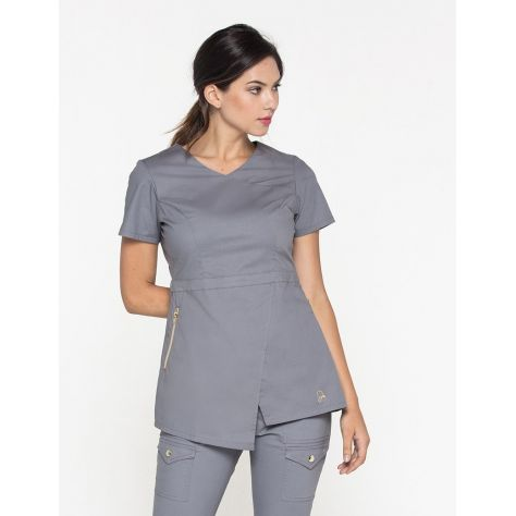 "Tunique Jaanuu ""Tunic Top"" Gris Clair"