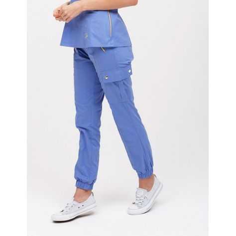 """Pantalon Jaanuu """"Jogger Pant"""" Bleu Ciel"""