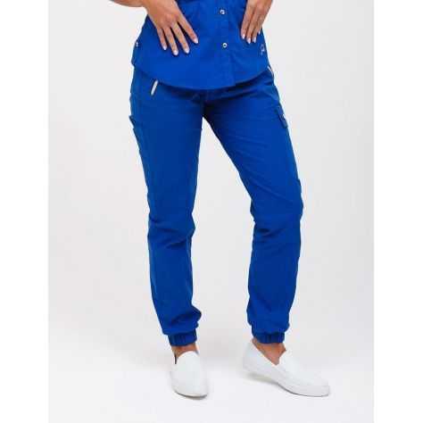 """Pantalon Jaanuu """"Jogger Pant"""" Bleu Royal"""