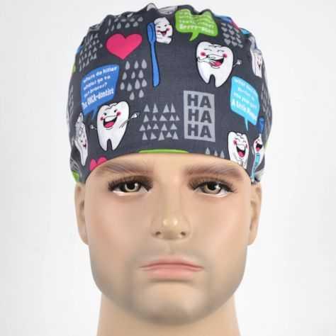 Calot Chirurgien Gris Dentiste