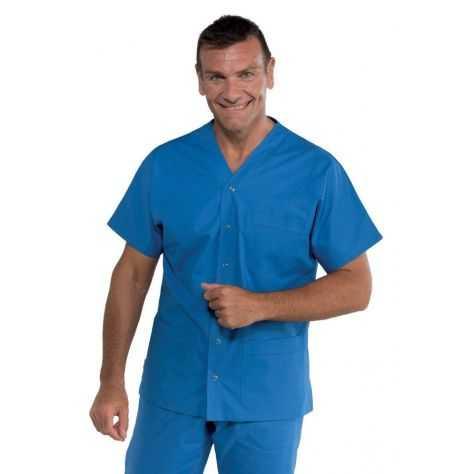 Blouse Médicale Unisexe Cancun Bleu