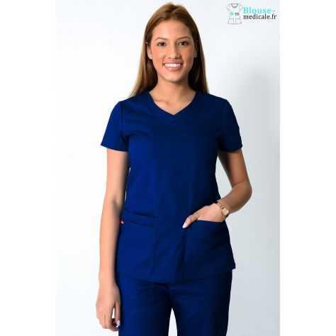 Tunique Medicale Dickies Femme Bleu Marine 85906
