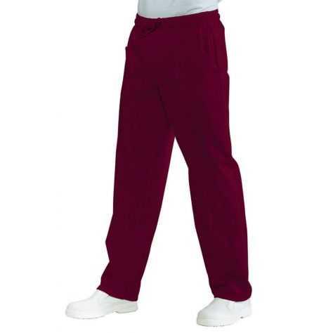 Pantalon médical Unisexe Bordeaux