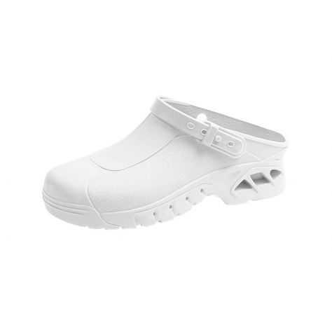 Sabot blanc classique Abeba