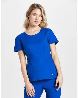 "Tunique Jaanuu ""Peplum Top"" Bleu Royal"