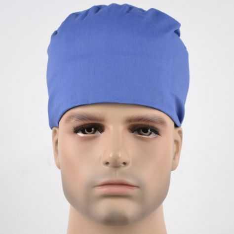 Calot Chirurgien Bleu uni