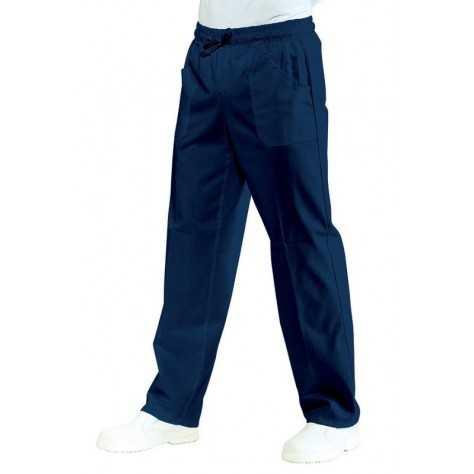 Pantalon unisexe Bleu Marine PolyCoton