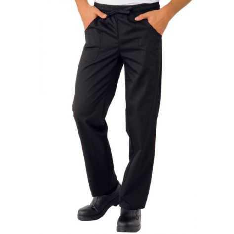 Pantalon unisexe Noir PolyCoton