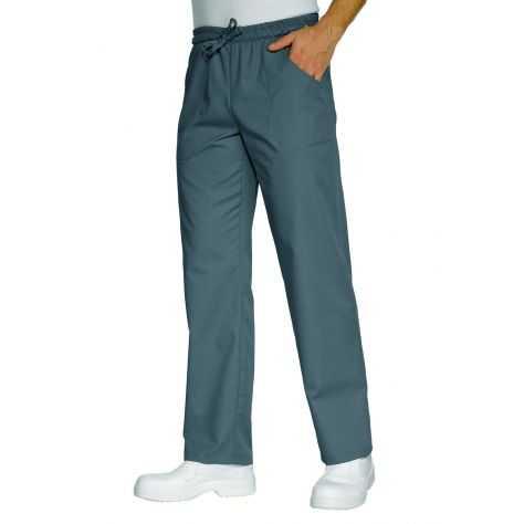 Pantalon unisexe Gris Anthracite PolyCoton
