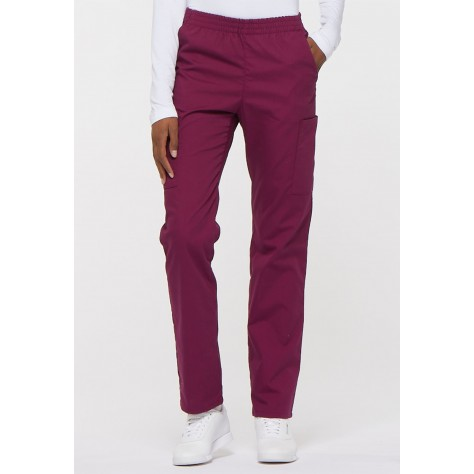 Pantalon Dickies Femme Bordeaux 86106