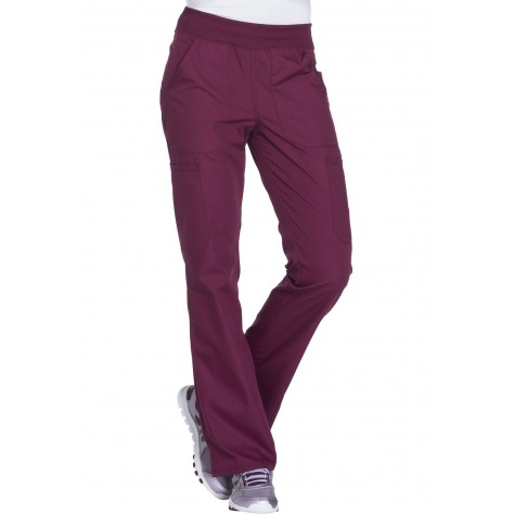 Pantalon Medical Femme Cherokee Bordeaux WW210