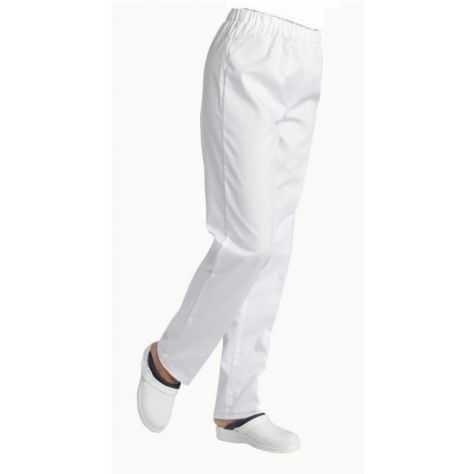 Pantalon Médical Unisexe Blanc André