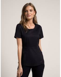"Tunique Jaanuu ""Peplum Top"" Noir Collection Jolie"