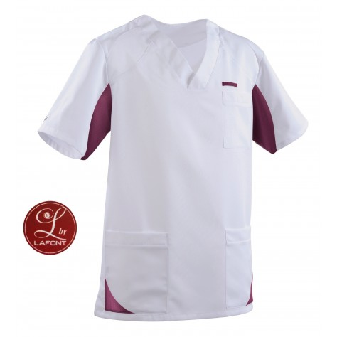 Tunique Lafont Clemix 2.0 Homme SANDRO Blanc Prune