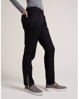 "Pantalon Jaanuu ""Moto Pant"" Noir Collection Jolie"