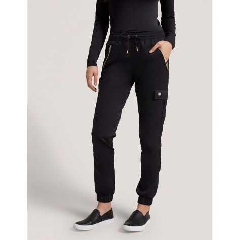 """Pantalon Jaanuu """"Jogger Pant"""" Noir Collection Jolie"""