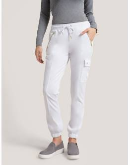 "Pantalon Jaanuu ""Jogger Pant"" Blanc Collection Jolie"