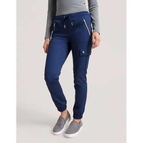 """Pantalon Jaanuu """"Jogger Pant"""" Bleu Marine Collection Jolie"""