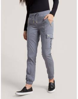 "Pantalon Jaanuu ""Jogger Pant"" Gris Clair Collection Jolie"