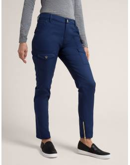 "Pantalon Jaanuu ""Skinny Cargo Pant"" Bleu Marine Collection Jolie"