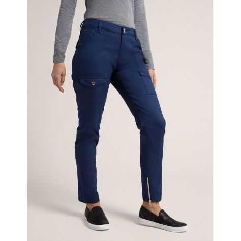 """Pantalon Jaanuu """"Skinny Cargo Pant"""" Bleu Marine Collection Jolie"""