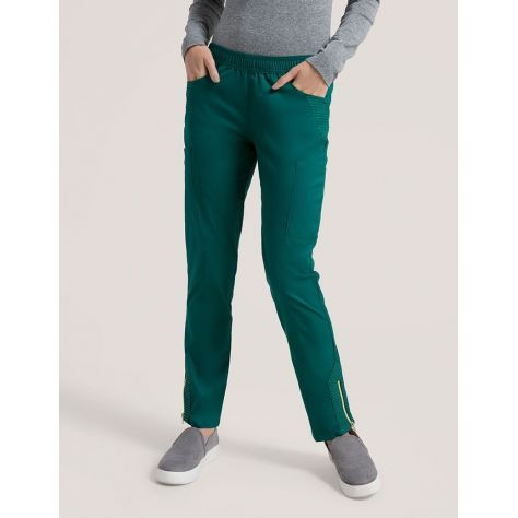 "Pantalon Jaanuu ""Moto Pant"" Vert Collection Jolie"