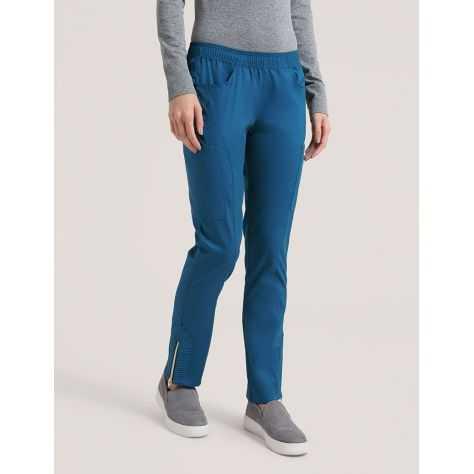 """Pantalon Jaanuu """"Moto Pant"""" Bleu Caraibe Collection Jolie"""