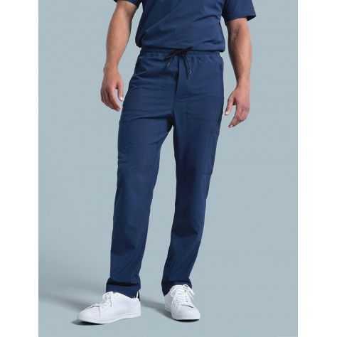 "Pantalon Jaanuu Homme ""Cargo Pant"" Bleu Marine"