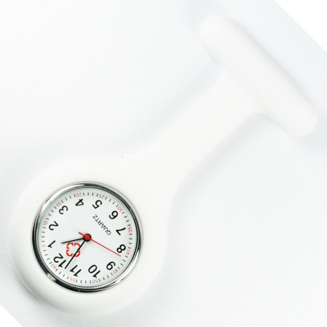 Montre Infirmière Blanc