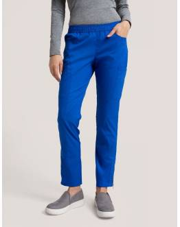 "Pantalon Jaanuu ""Moto Pant"" Bleu Royal Collection Jolie"