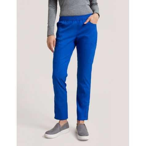 """Pantalon Jaanuu """"Moto Pant"""" Bleu Royal Collection Jolie"""