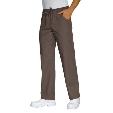 Pantalon unisexe Taupe PolyCoton