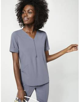 "Tunique Jaanuu ""Relaxed Cuff Sleeve Top"" Gris Clair Collection Hudson"