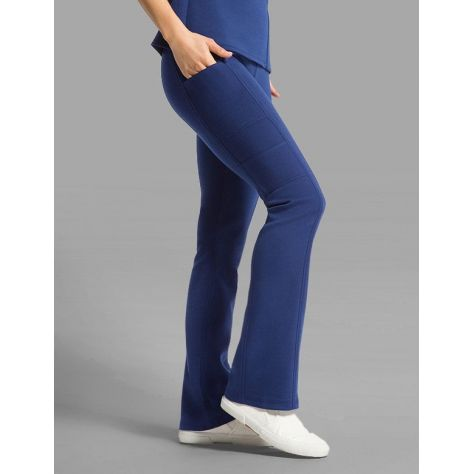 "Pantalon Jaanuu ""Yoga Pant"" Bleu Marine Collection Ponte"