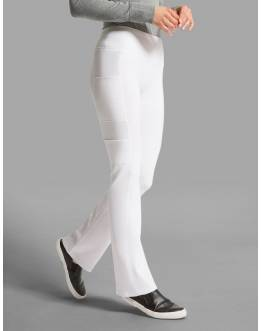 "Pantalon Jaanuu ""Yoga Pant"" Blanc Collection Ponte"