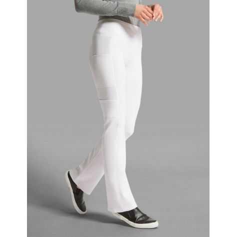 """Pantalon Jaanuu """"Yoga Pant"""" Blanc Collection Ponte"""