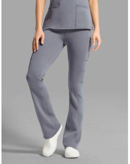 "Pantalon Jaanuu ""Yoga Pant"" Gris Clair Collection Ponte"