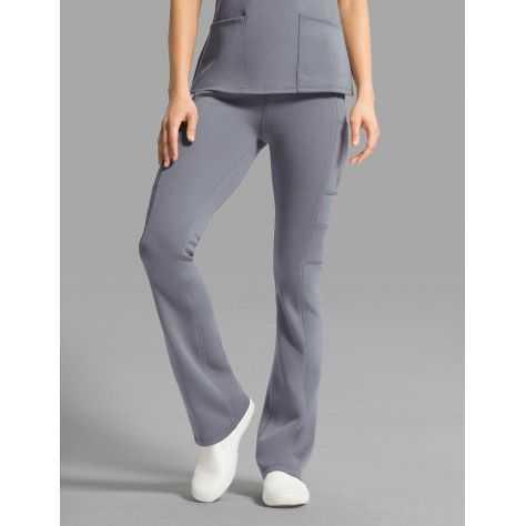 "Pantalon Jaanuu ""Yoga Pant"" Gris Clair Collection Ponte"