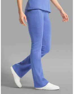 "Pantalon Jaanuu ""Yoga Pant"" Bleu Ciel Collection Ponte"