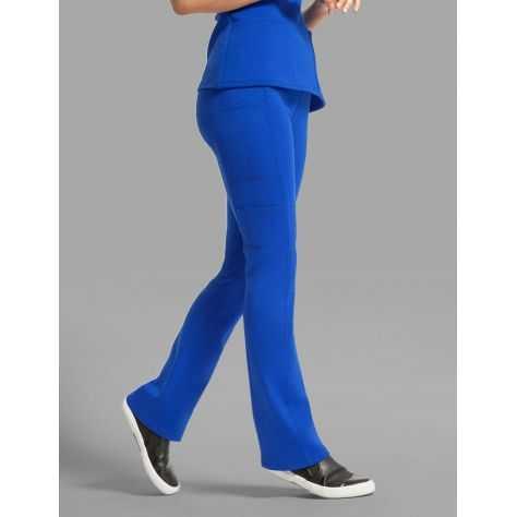 "Pantalon Jaanuu ""Yoga Pant"" Bleu Royal Collection Ponte"